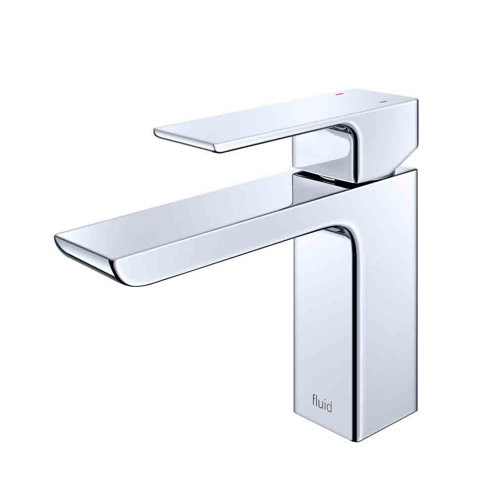 fluid Quad Single Lever Lavatory Tap F16001-