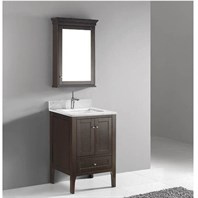"Madeli Torino 24"" Bathroom Vanity - Walnut B970-24-001-WA"
