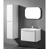 "Madeli Euro 30"" Bathroom Vanity for Integrated Basin - Glossy White B930-30-002-GW"