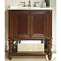 "Fairmont Designs Stratford 30"" Vanity Open Shelf - Brandy 149-VH30"
