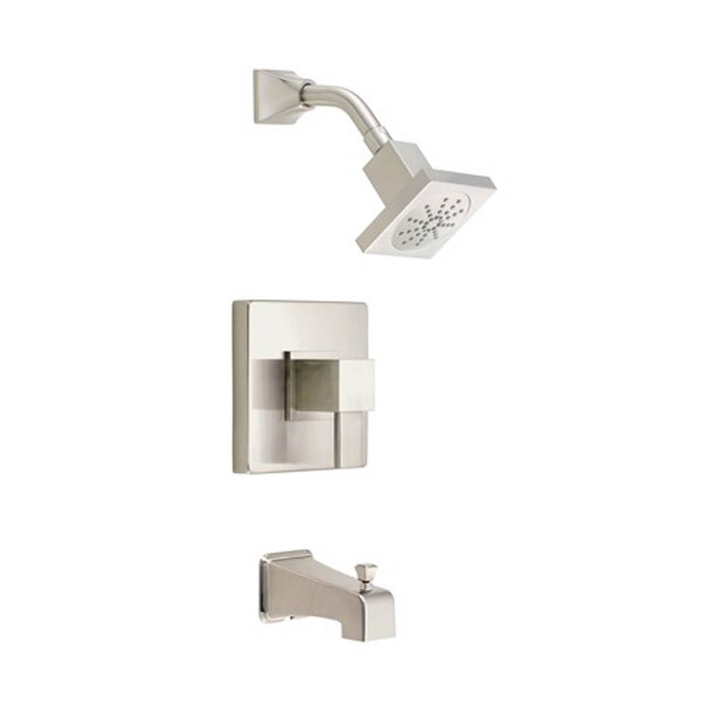 Danze Reef 1H Tub & Shower Trim Kit w/ Diverter on Spout 1.75gpm - Brushed Nickelnohtin Sale $288.00 SKU: D501033BNT :