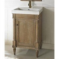 "Fairmont Designs Rustic Chic 21"" Vanity & Sink Set - Weathered Oak 142-V21"