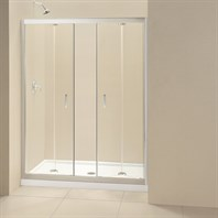 "Bath Authority DreamLine Butterfly Frameless Bi-Fold Shower Door (58""- 59-1/2"") SHDR-4558720-01"
