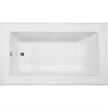 Hydro Systems Angel 7242 Tub with End Drain ANE7242 by Hydro Systems