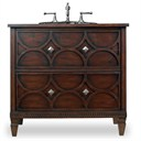 "Cole & Co. 36"" Designer Series Collection Dalton Sink Chest - Aged Chestnut 11.22.275536.08"