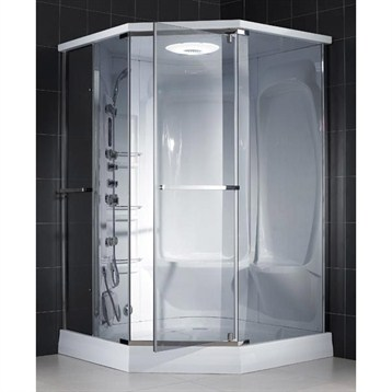 Bath Authority DreamLine Neptune Jetted and Steam Shower