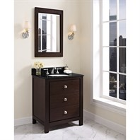 "Fairmont Designs Uptown 30"" Vanity For Undermount Oval Sink - Espresso 1519-V30_"