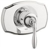 Grohe Seabury Pressure Balance Valve Trim with Lever Handle - Infinity Brushed Nickel