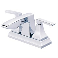 Danze Logan Square Two Handle Centerset Lavatory Faucet - Chrome D301036