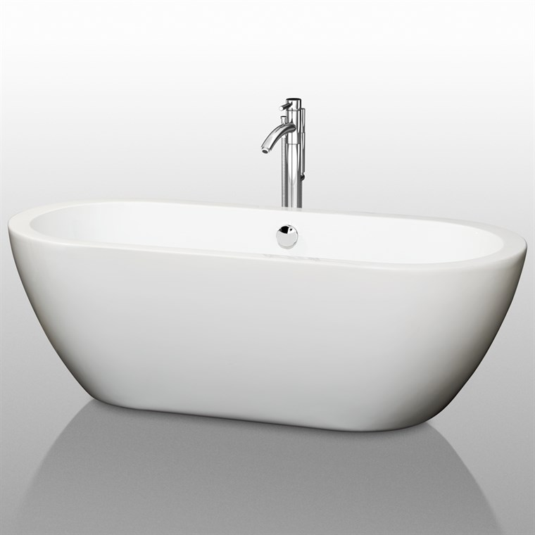 "Soho 68"" Soaking Bathtub by Wyndham Collection WC-BT1002-68"