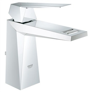 Grohe Allure Brilliant Lavatory Centerset, Starlight Chrome GRO 23034000 by GROHE