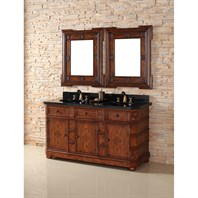 "James Martin 60"" Charleston Double Vanity - Burnished Ash 400-V60D-BNA"