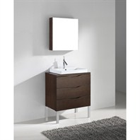 "Madeli Milano 30"" Bathroom Vanity - Walnut B200-30-002-WA"