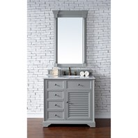 "James Martin 36"" Savannah Single Vanity - Urban Gray 238-104-V36-UGR"