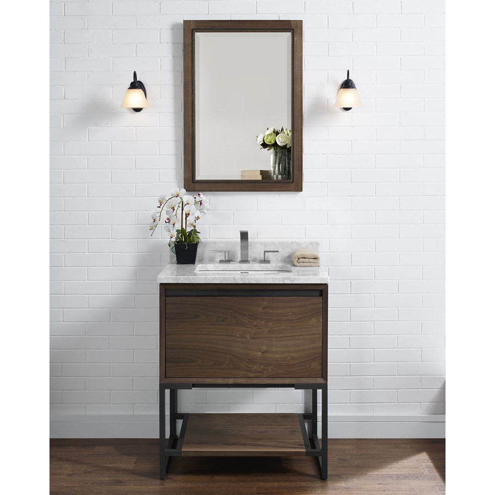 "Fairmont Designs M4 30"" Vanity - Natural Walnutnohtin Sale $1191.00 SKU: 1505-V30 :"