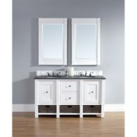 "James Martin 60"" Madison Double Vanity - Cottage White 800-V60D-CWH"