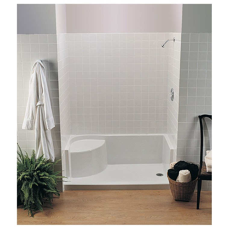 "MTI MTSB-6036Seated Shower Base (59.75"" x 35.5"" x 21.5"")"