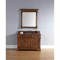"James Martin 48"" Brookfield Single Vanity with drawers - Country Oak 147-114-5276"