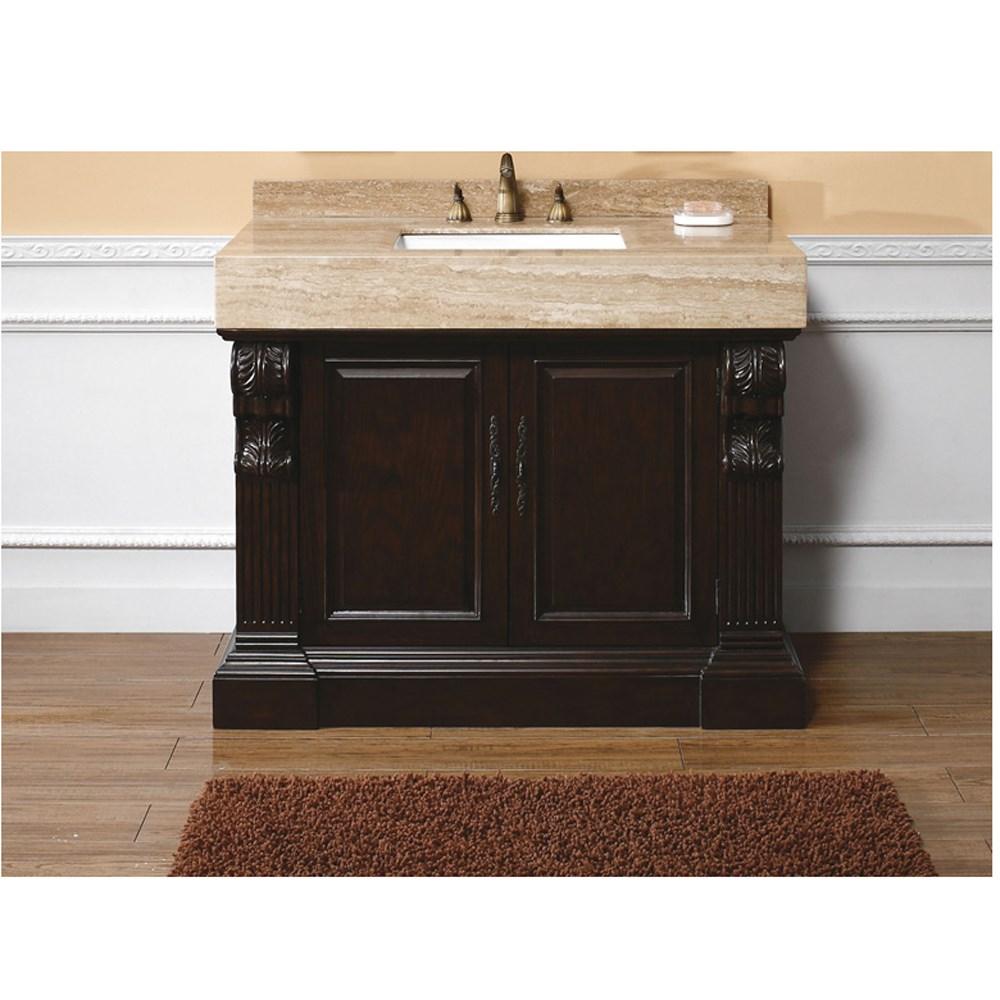 "James Martin 42"" Newport Single Vanity - Dark Cherrynohtin Sale $1195.00 SKU: 206-001-5176 :"