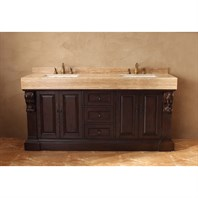 "James Martin 72"" Newport Double Vanity - Dark Cherry 206-001-5515"