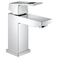 Grohe Eurocube Lavatory Single-hole Centerset S-Size - Starlight Chrome GRO 23133000