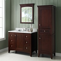 "Fairmont Designs Shaker Americana 42"" Vanity for 1-1/4"" Thick Top - Habana Cherry 1513-V42"