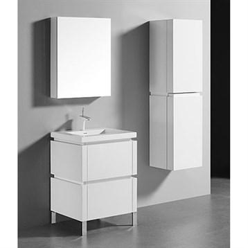 "Madeli Metro 24"" Bathroom Vanity for Integrated Basin, Glossy White B600-24-001-GW by Madeli"