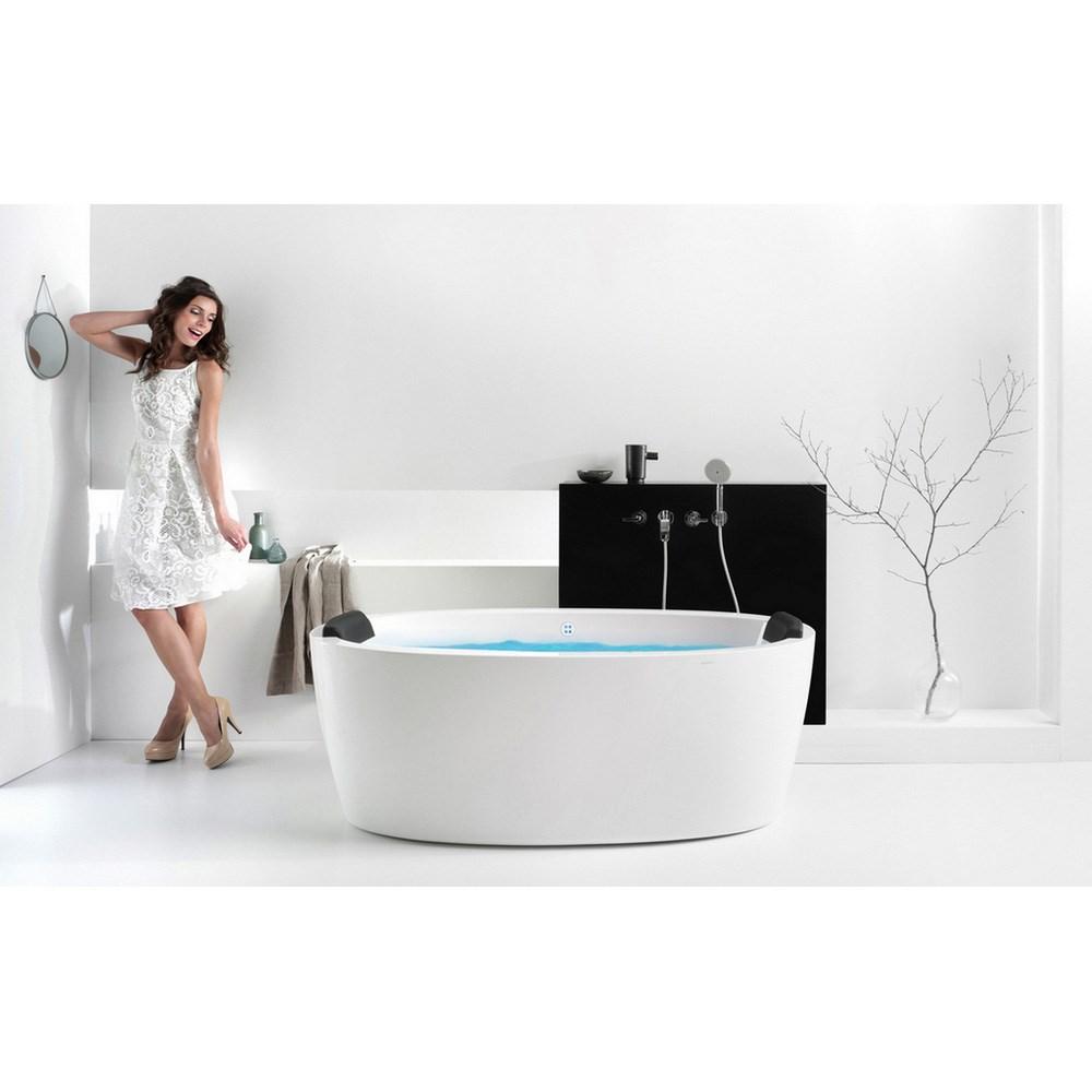 Aquatica Purescape 174A-Wht Relax Air Massage Bathtub - White   Free ...