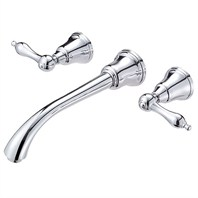 Danze® Fairmont™ Two Handle Wall Mount Lavatory Faucet Trim Kit - Chrome