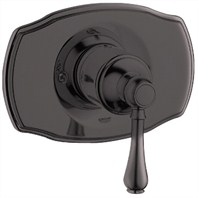 Grohe Geneva Pressure Balance Valve Trim with Lever Handle - Oil Rubbed Bronze