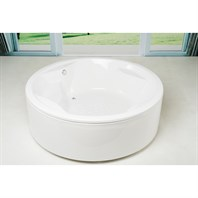 Aquatica Allegra Lucite Acrylic Bathtub - White Aquatica Allegra