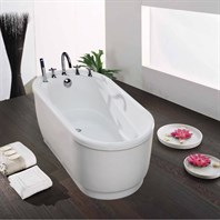 Aquatica Purescape 028 Freestanding Acrylic Bathtub - White Multiple Sizes Aquatica Purescape 028