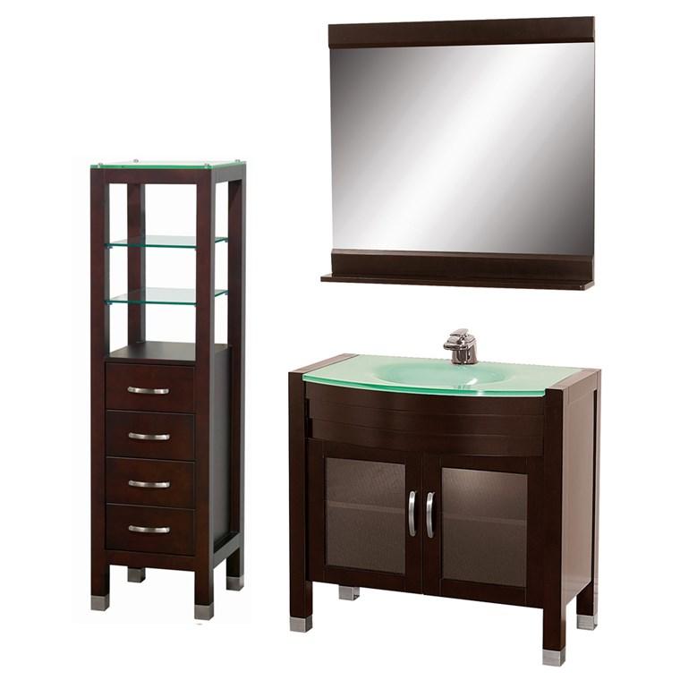 Daytona 36u0026quot; Bathroom Vanity Set   Espresso A W2109 36 ESP