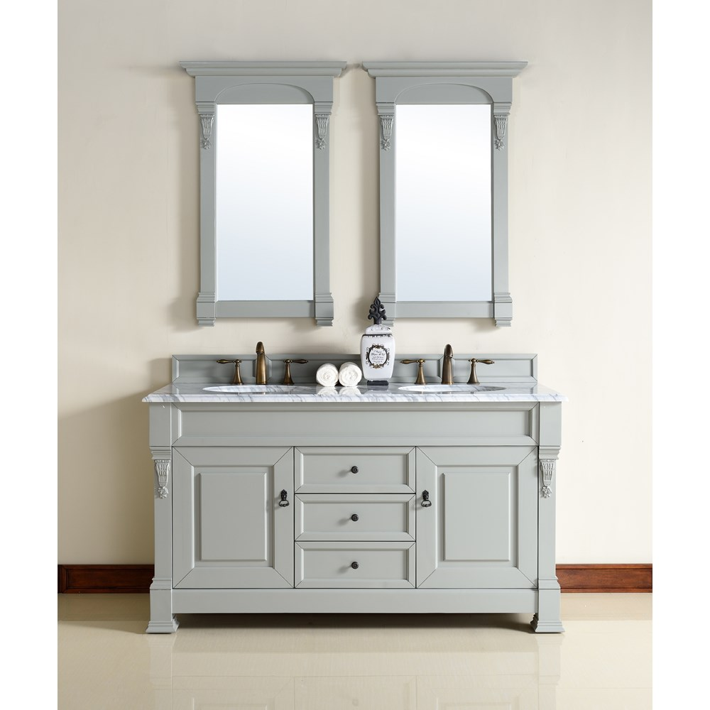 "James Martin 60"" Brookfield Double Cabinet Vanity - Urban Graynohtin Sale $1110.00 SKU: 147-114-5691 :"