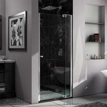 """Bath Authority DreamLine Allure Shower Door, 30""""-37"""" by Bath Authority DreamLine"""