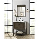 "Fairmont Designs Toledo 30"" Vanity with Doors for Integrated Top - Driftwood Gray 1401-30-"