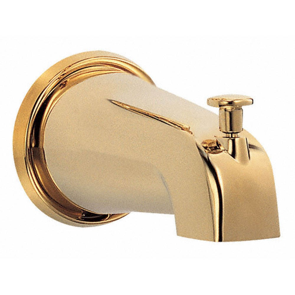 "Danze 5 1/2"" Wall Mount Tub Spout with Diverter - Polished Brassnohtin"