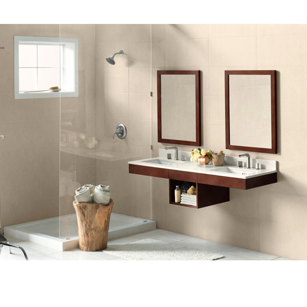 Ronbow Adina 62 Inch Double Vanity Undermount Dark Cherry