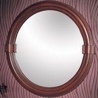 "Fairmont Designs 28"" Traditional Collection Victoria Mirror - Dark Cherry"