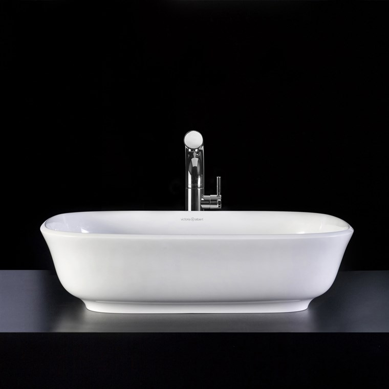 Amiata 60 Vessel Sink by Victoria and Albert VB-AMT-60-NO (CS790)