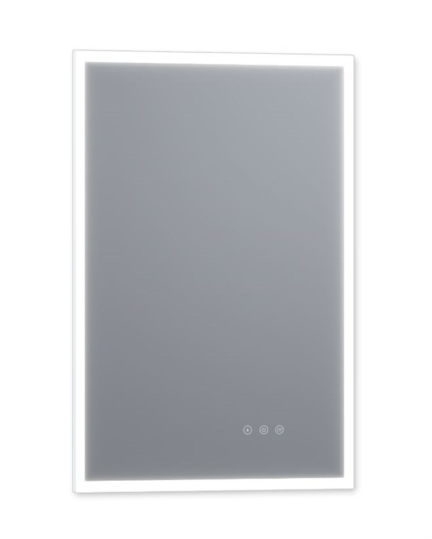 "Luxaar Lucent 24 "" x 36 "" Wall Mounted LED Vanity Mirror with Color Changer, Dimmer and Defogger LEDCM2436"