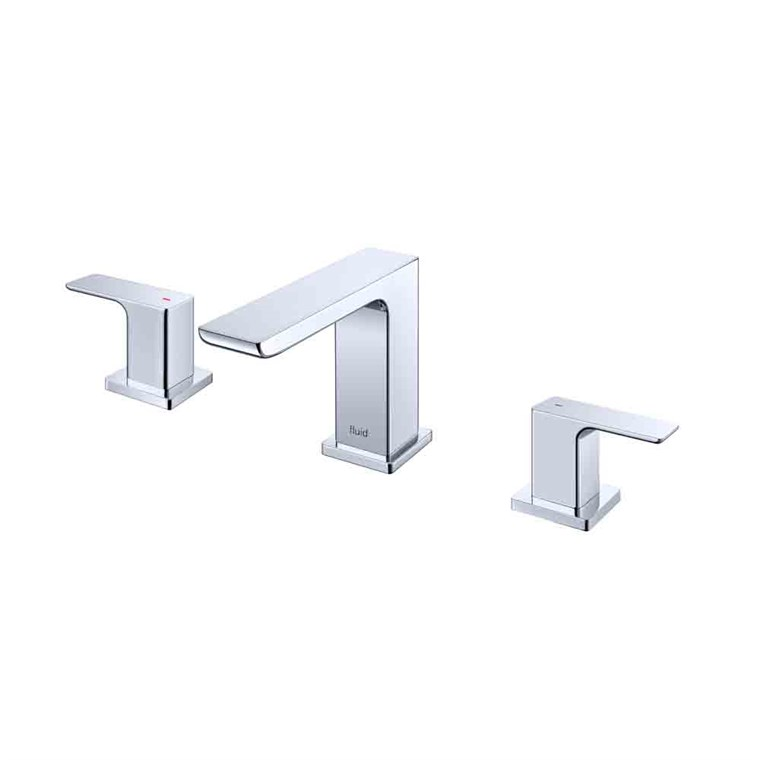 fluid Quad Dual Handle Lavatory Tap F16006-