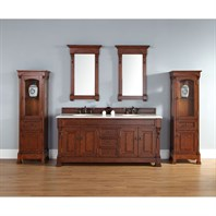 "James Martin 72"" Brookfield Double Vanity - Warm Cherry 147-114-5781"