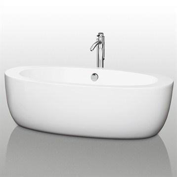 """Uva 69"""" Soaking Bathtub by Wyndham Collection WC-BT1004-69 by Wyndham Collection®"""