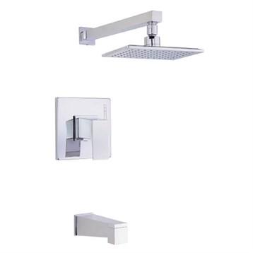 Danze Mid-Town 1H Tub & Shower Trim Kit w/ Diverter on Spout 1.75gpm, Chrome D501062T by Danze