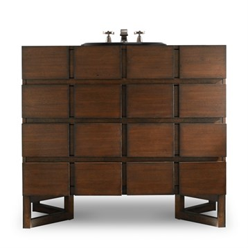 "Cole & Co. 40"" Designer Series Hudson Chest, Medium Walnut 11.24.275540.24 by Cole & Co."