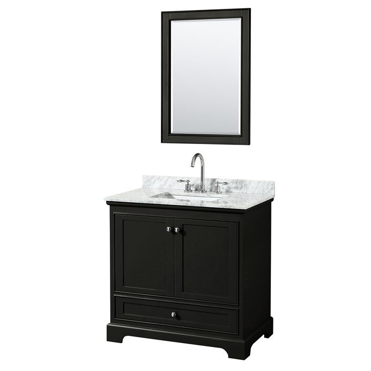 Deborah 36 Single Bathroom Vanity by Wyndham Collection - Dark Espresso WC-2020-