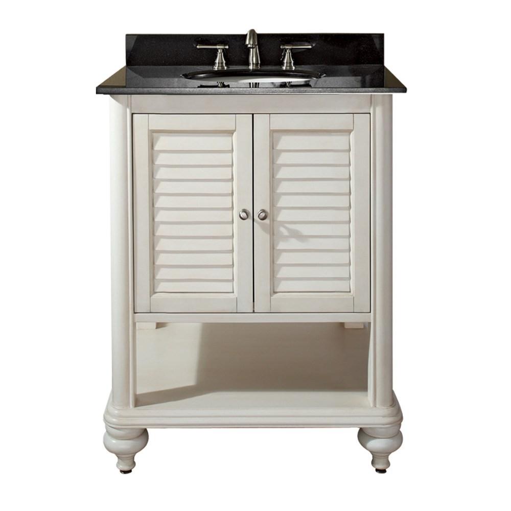 "Avanity Tropica 25"" Bathroom Vanity with Countertop - Antique Whitenohtin Sale $833.00 SKU: TROPICA-24-AW :"