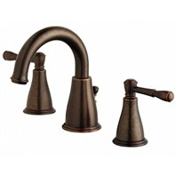 Danze® Eastham Two Handle Widespread Lavatory Faucet - Tumbled Bronze D304015BR