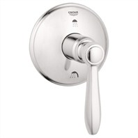 Grohe Somerset 3-Port Diverter Trim - Infinity Brushed Nickel